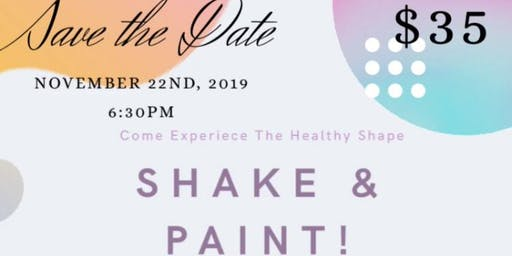 Shake and Paint Party: Greensboro