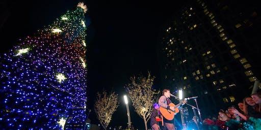 Tree Lighting With Kris Allen