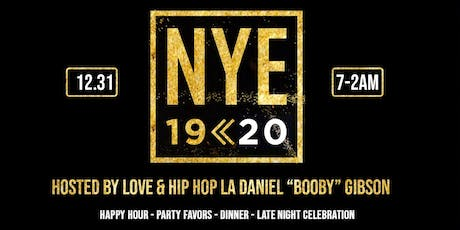 """THE PERFECT CELEBRATION NYE 2020 @ SEASIDE HOSTED BY DANIEL """"BOOBY"""" GIBSON tickets"""