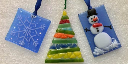 Fused Glass Class: Holiday Ornaments / New Date!