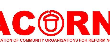 Acorn Birmingham Member Defence Training Workshop tickets