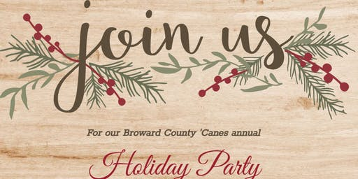 Broward County 'Canes Holiday Party