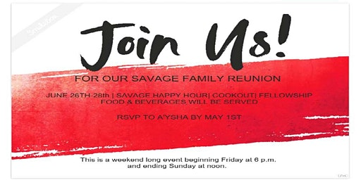 Savage Family Reunion 2020