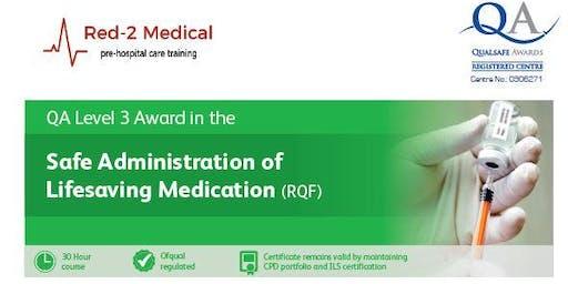 Qualsafe Safe Administration of Life Saving Medication