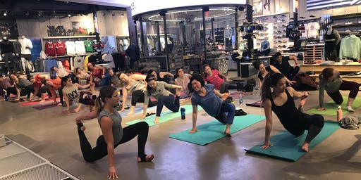 Hip Hop Yoga with Anne and DJ Sprino