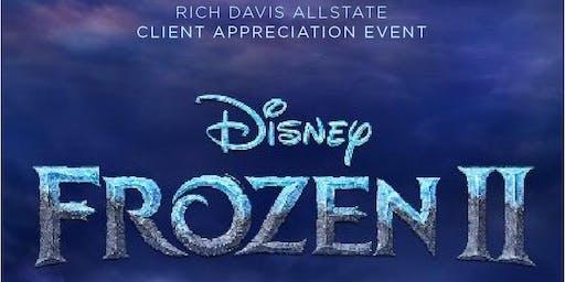 Frozen 2- Rich Davis, Allstate Client Appreciation Movie