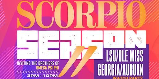I Love Day Parties presents Scorpio Season II + LSU/Ole Miss + Georgia/Auburn @ Level Uptown