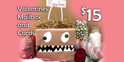 Valentines Day Mailbox and cards