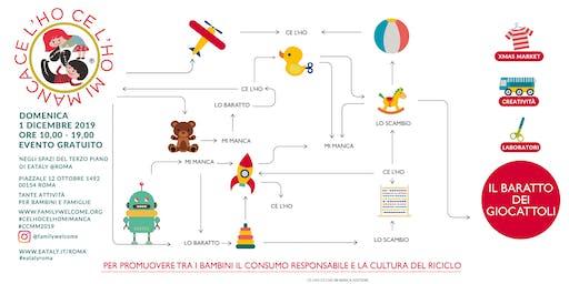 La Valigia dei Giochi - Laboratori creativi bambini a tema Natalizio | CE L'HO CE LHO MI MANCA 2019