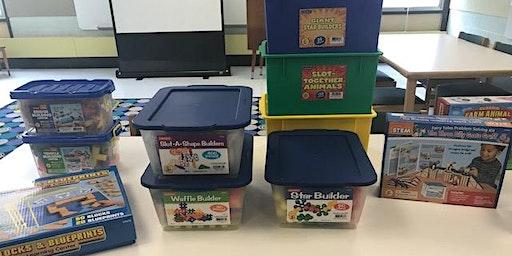 Wee Build Preschool STEM Play - New Time 9:30 am