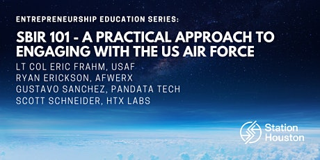 SBIR 101 – A Practical Approach to Engaging with the US Air Force tickets