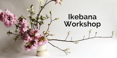 Introductory Ikebana Workshop on 1/11 tickets