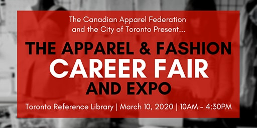 Apparel & Fashion Career Fair and Expo