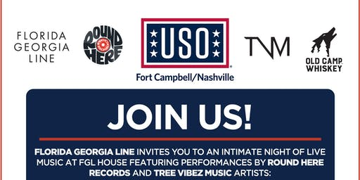 USO Nashville Celebration presented by Old Camp Whiskey and FGL