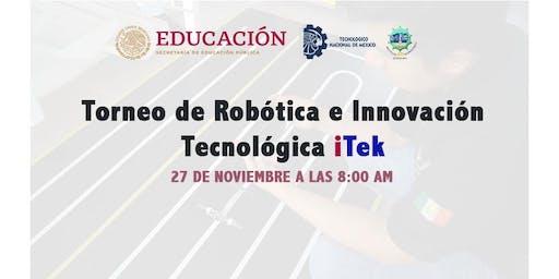 Concurso de Robótica e Innovación Tecnológica iTek
