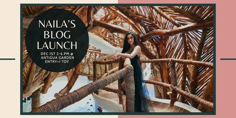Naila's Blog Launch Party + Ryan House Toy Drive tickets
