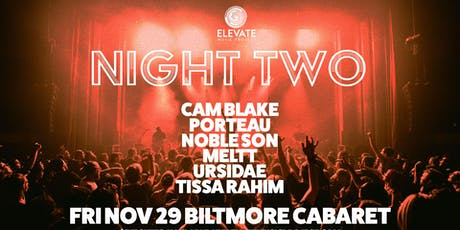 Elevate Music Project - Night Two tickets