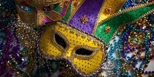 Four Strings Mardi Gras Party