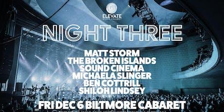 Elevate Music Project - Night Three tickets