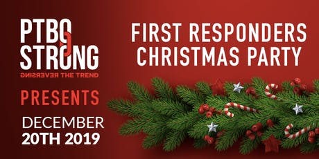 First Responders Christmas Party tickets