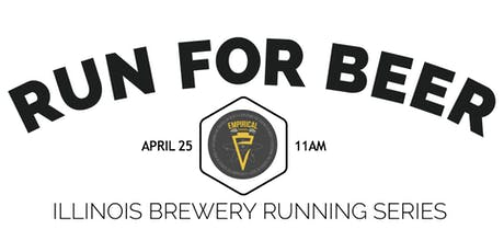 Beer Run - Empirical Brewery | Part of the 2020 IL Brewery Running Series tickets