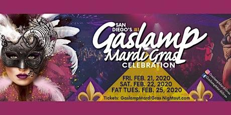 2020 Gaslamp Mardi Gras: Fri-Sat-Fat Tues. February 21, 22, 25 tickets
