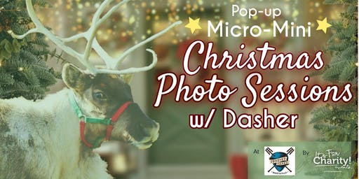 Christmas w/ Live Reindeer Photo Sessions Pop-up at Panther Island Brewing