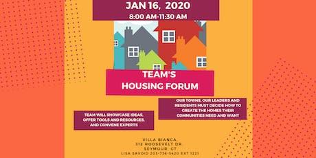 TEAM's Housing Forum tickets