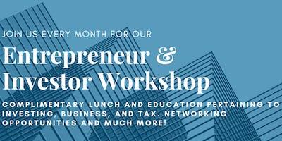 Entrepreneur and Investor Series - February 26th