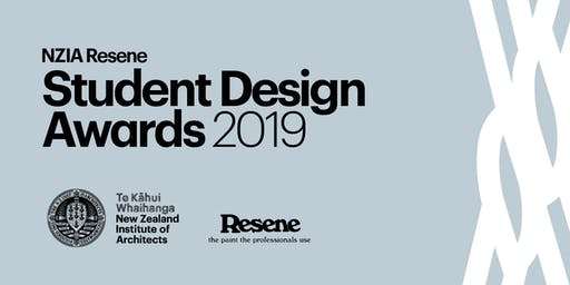 NZIA Resene Student Design Awards 2019