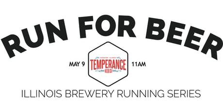 Beer Run - Temperance Beer | Part of the 2020 IL Brewery Running Series tickets