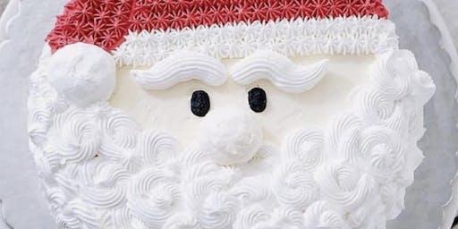 Santa Cake Class