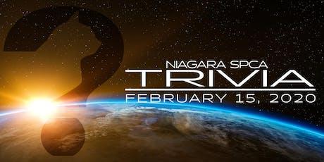 Niagara SPCA Trivia tickets