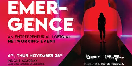 EMERGENCE | Networking Event tickets