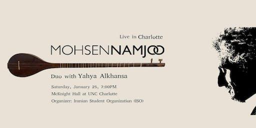 Mohsen Namjoo Duo with Yahya Alkhansa Live in Charlotte