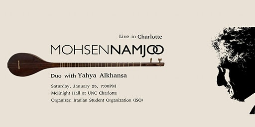 Mohsen Namjoo Duo with Yahya Alkhansa Live in Charlotte