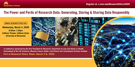 Annual Research Ethics Conference-The Power and Perils of Research Data tickets