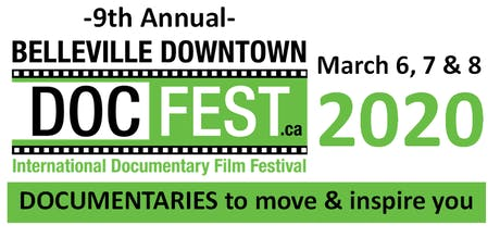 Belleville Downtown Docfest 2020 tickets