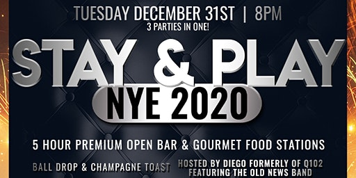New Year's Eve 2020 | Stay & Play
