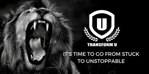 TRANSFORM U LIVE - April 2020 Raleigh North Carolina 3 Day Conference to Life Mastery