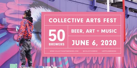 Collective Arts Festival 2020 tickets