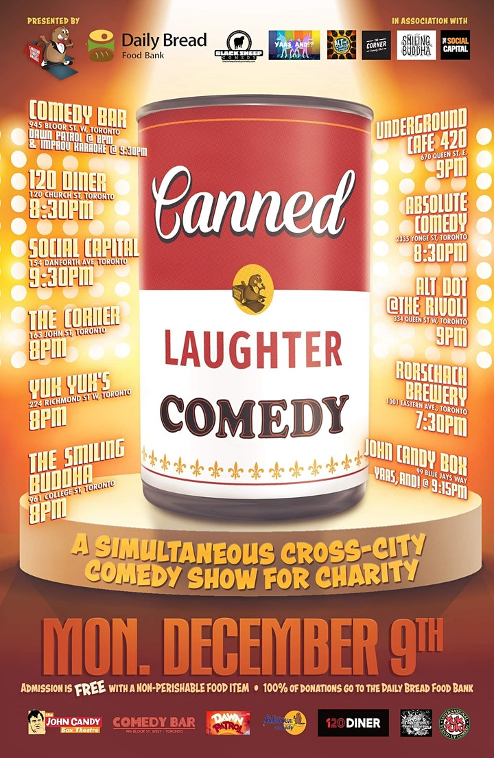 Black Sheep Comedy @ Rorschach Brewing Co, Canned Laughter Edition image