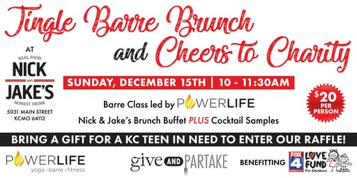 Jingle Barre Brunch & Cheers to Charity