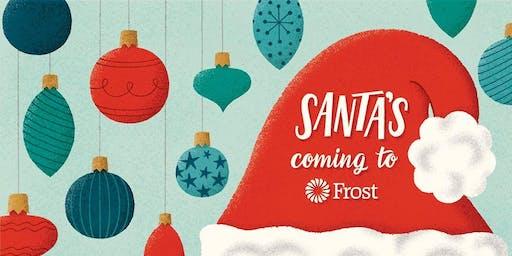 Santa's Coming to Frost Garden Oaks