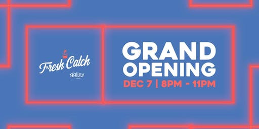 Grand Opening Party and 1 year of free poke Giveaway