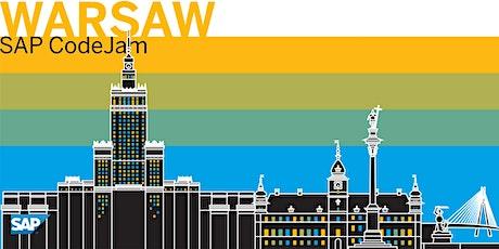 SAP CodeJam Warsaw tickets