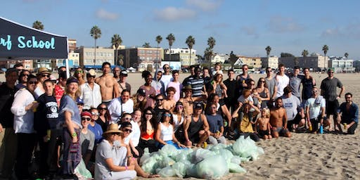 Daana Blue BEACH CLEANUP with FREE Yoga and Surf lessons- 5 yr Anniversary