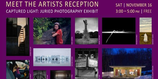 Meet the Artists Reception - Captured Light: Current Photographic Processes