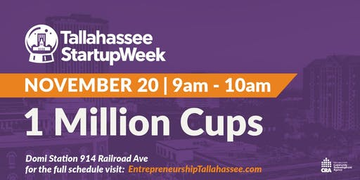 1 Million Cups: Startup Week