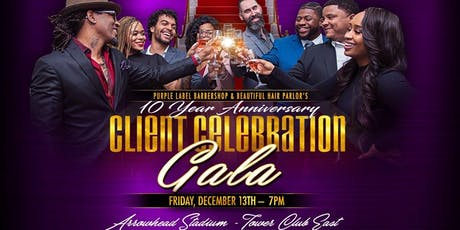 Purple Label & Beautiful Hair Salon - Client Celebration Gala tickets